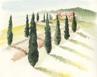 Tuscan Villa IV
