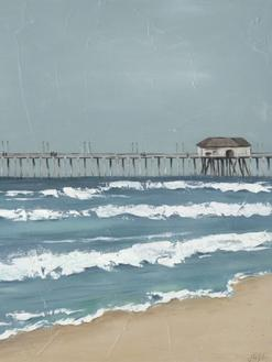 Fishing Pier Diptych II