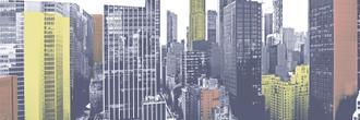 Pastel NYC Panorama