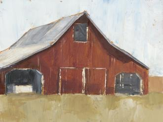 Rustic Red Barn I