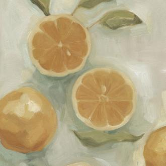 Citrus Study in Oil I