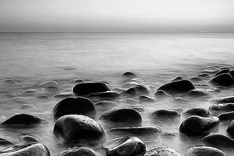 Rocks in Mist III