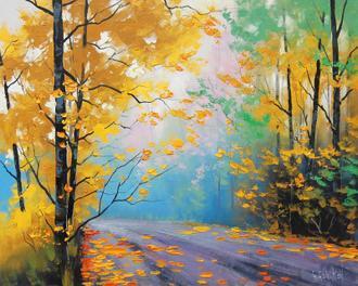 Misty Autumn Day