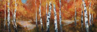 Autumn Birch II