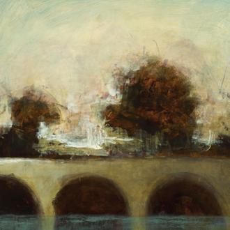 Foggy Bridge I