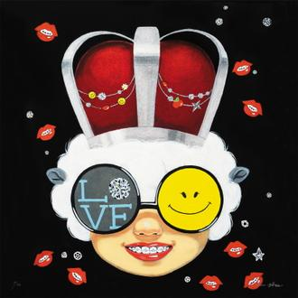 Sealed smile (50 Editions)