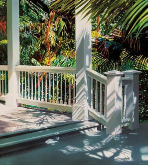 Small Glittering Porch