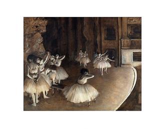 Dance Rehearsal, 1874