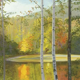 Cooper Lake, Autumn