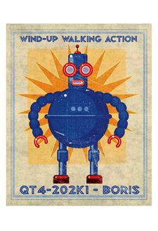 Boris Box Art Robot
