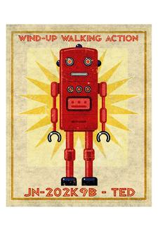 Ted Box Art Robot
