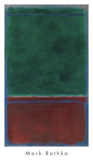 No. 7 (Green and Maroon), 1953