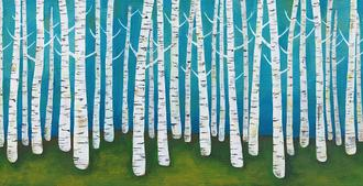 Springtime Birches