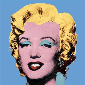 Shot Blue Marilyn