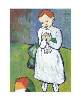 L`enfant au pigeon