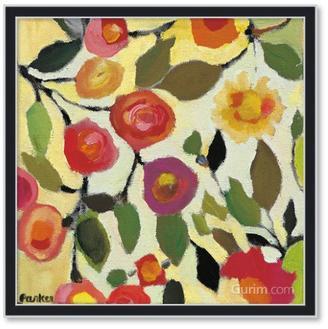 Floral Tile II