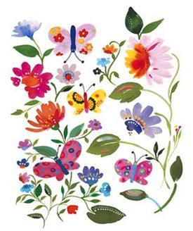 Bella Butterfly &Garden II