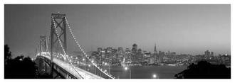 San Francisco (Black And White)