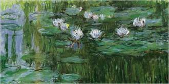 Waterlilies (green)