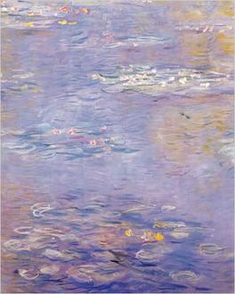 Waterlilies (mauve)