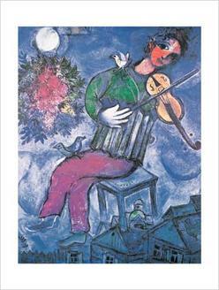 The Blue Violinist