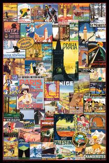 Travel the World Vintage Ads
