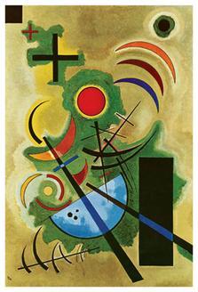 Standhaftes Grun (Solid Green), 1925