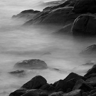 Rocks in Mist II