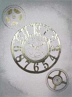 Gilded Clocks I