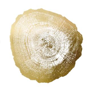 Gold Foil Tree Ring IV