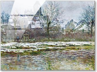 The Church at Vetheuil, Snow, 1878-79
