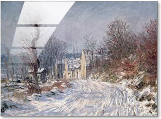 The Road at Giverny in Winter, 1885