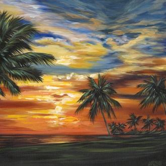 Stunning Tropical Sunset II
