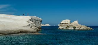 Milos Rocks Shores
