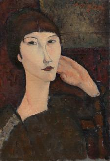 Adrienne(Woman with Bangs), 1916 (아드리앤)