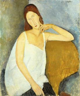 Jeanne Hebuterne, 1919 (잔느 에뷔테른느)