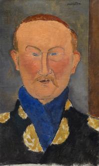 Leon Bakst, 1917 (레온 박스트의 초상)