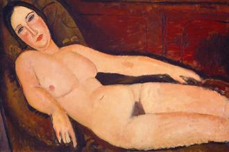 Nude on a Divan, 1918