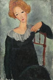Woman with RedHair, 1917