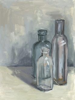 Still Life with Bottles II