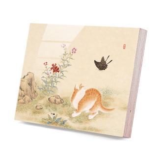 김홍도 (황묘농접도)