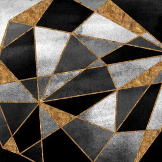 Black Geo Abstract