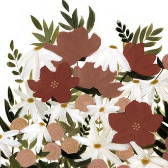 Terracotta Wildflowers II