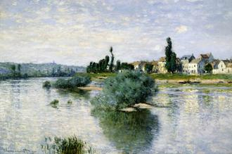 The Seine at Lavacourt (라바쿠르의 센느강)