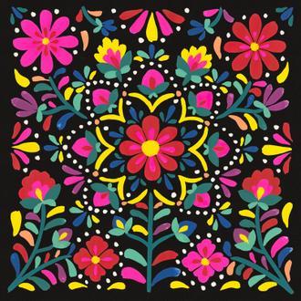 Floral Fiesta II