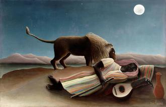 The Sleeping Gypsy, 1987 (잠자는 집시)