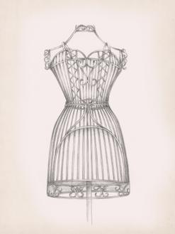 Antique Dress Form I