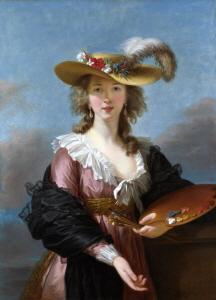 Self-Portrait in a Straw Hat, 1782 (밀짚모자를 쓴 자화상)