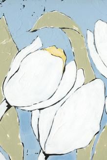 White Tulip Triptych II
