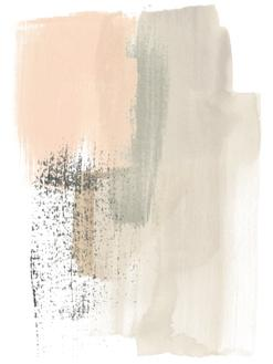 Blush Abstract I